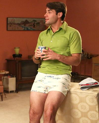 Bob Benson Wears Short Shorts