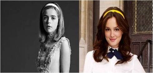 Sally Draper and Blair Waldorf