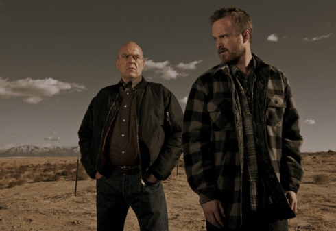 Hank and Jesse Breaking Bad