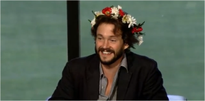 Hugh Dancy Flower Crown