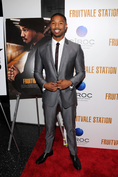 Michael B Jordan New York premiere Fruitvale Station