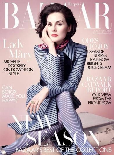 Michelle Dockery Harpers Bazaar