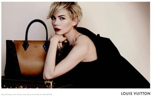 Michelle Williams Louis Vuitton AW 13
