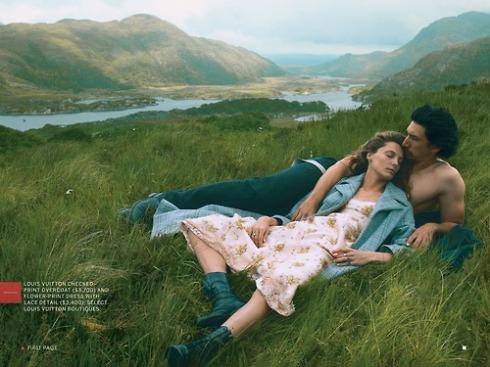 Adam Driver and Daria Vogue