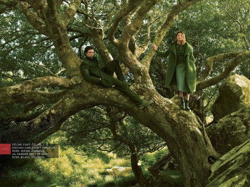 Adam Driver tree Vogue