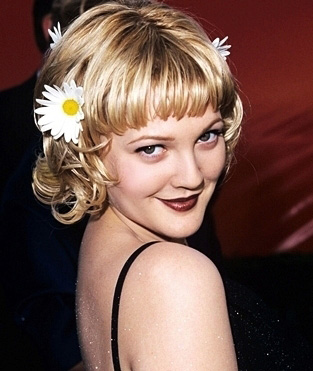 Drew Barrymore daisy