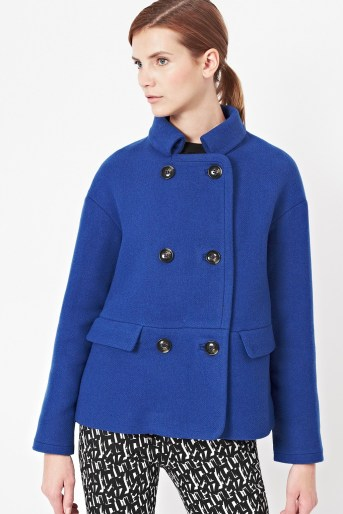Blue French Connection Coat
