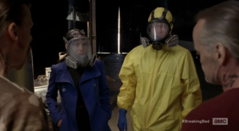 Breaking Bad and Lydia's blue coat