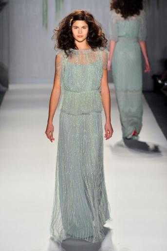 Jenny Packham blue dress