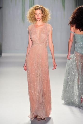 Jenny Packham nude dress