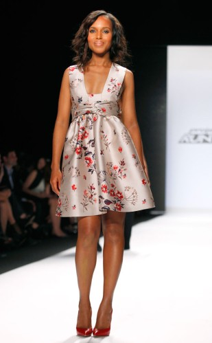 Kerry Washington Project Runway NYFW