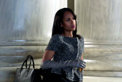 Olivia Pope leather gloves