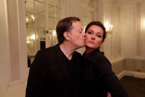 Sidse Babett Knudsen and Eddie Izzard