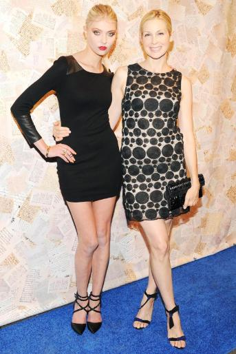Taylor Momsen  and Kelly Rutherford