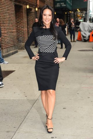 "Celebrities Visit ""Late Show With David Letterman"" - October 9, 2013"