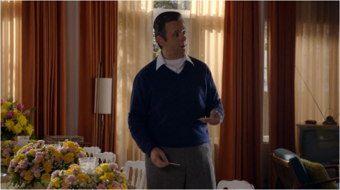 Masters of Sex 1.03 Bill Blue Sweater