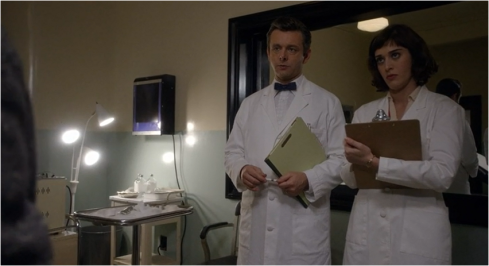 Masters of Sex 1.04 Virginia lab coat