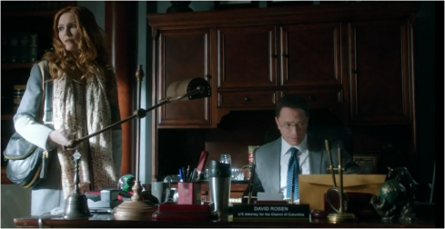 Scandal 3.3 Abby and David office