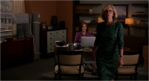 The Good Wife Diane full length green