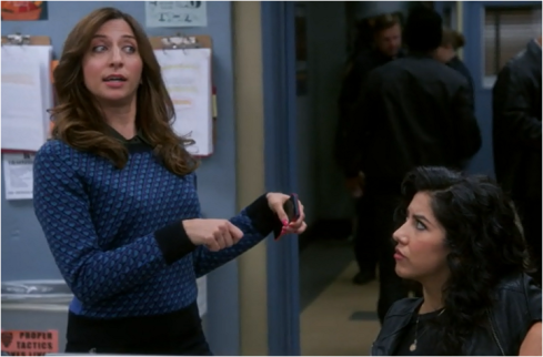 Gina Brooklyn Nine Nine Thanksgiving