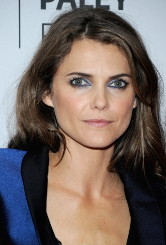 Keri Russell electric blue eyes