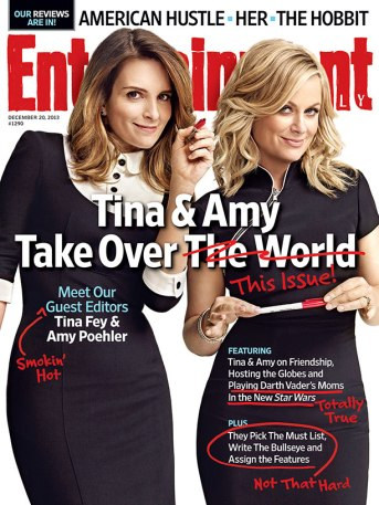 Amy Poehler and Tina Fey EW cover