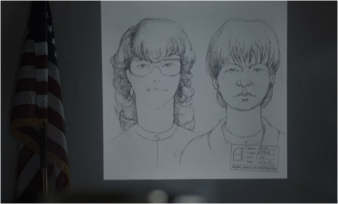 The Americans two sketches