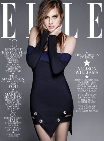 Allison Williams Elle