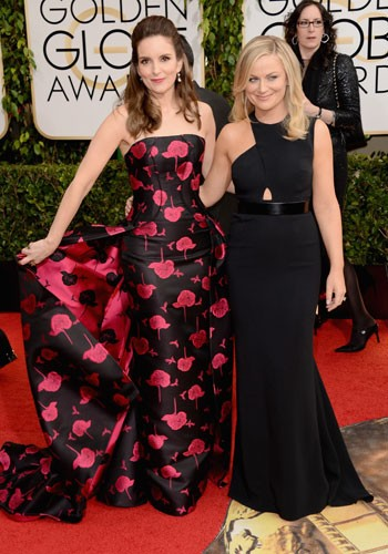 Amy and Tina red carpet