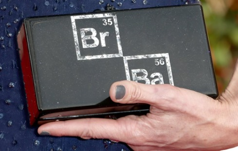 Anna Gunn Breaking Bad clutch