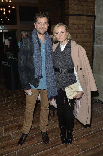 Diane Kruger and Joshua Jackson Sundance
