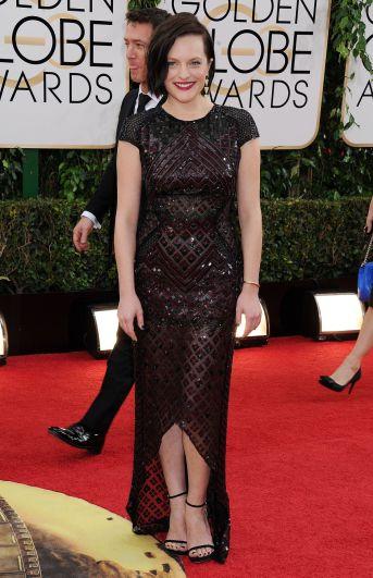 Elisabeth Moss Golden Globes