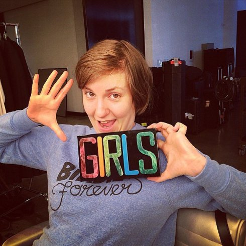 Lena Dunham Girls Clutch