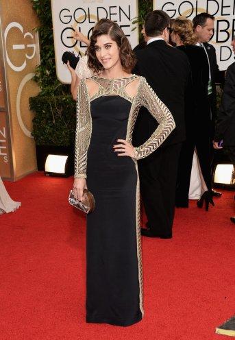 Lizzy Caplan Golden Globes