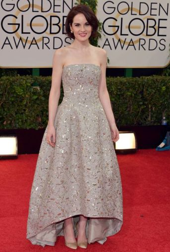 Michelle Dockery Golden Globes