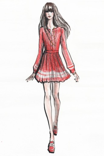 Sketch Zooey Deschanel