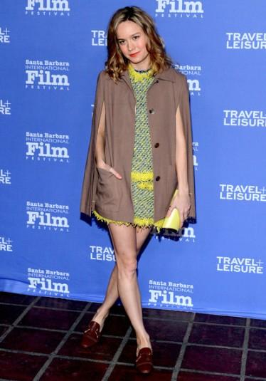 Brie Larson cape