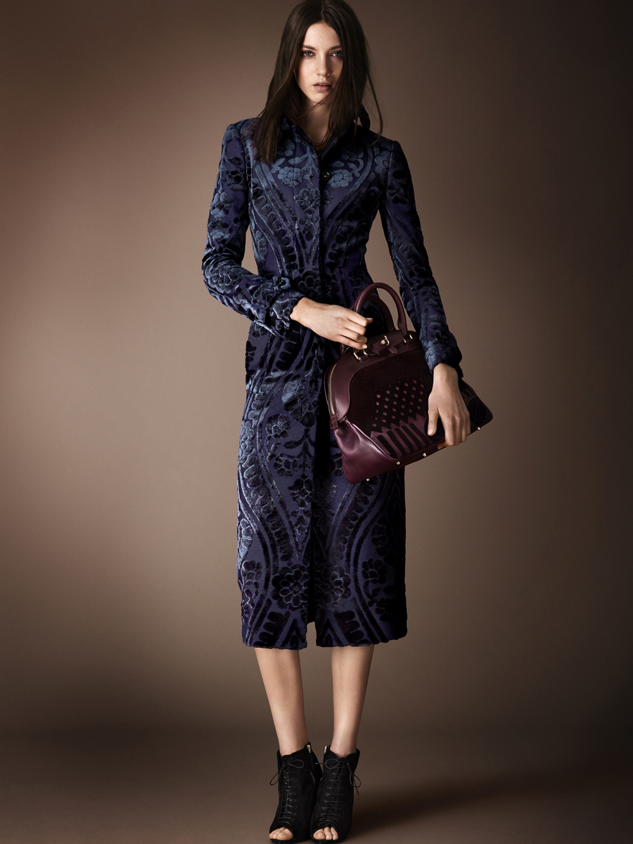 Burberry Prorsum Runway London Fashion Week Aw14: Fantasy Costuming: Which TV Character Would Wear This