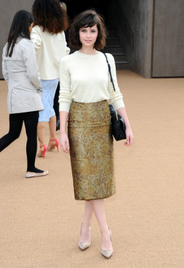 Felicity Jones Burberry