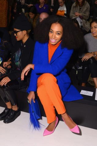 Solange at Milly