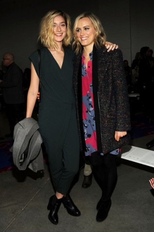 Taylor Schilling and Caitlin Fitzgerald