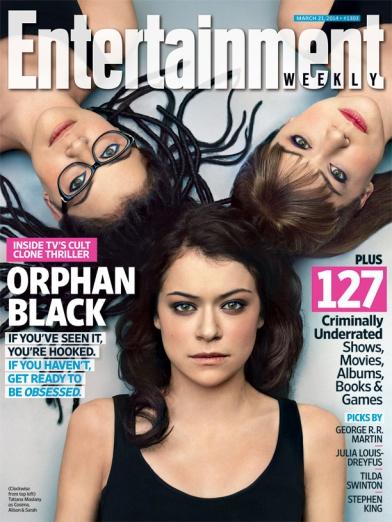 Orphan Black EW cover
