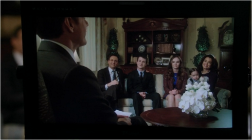 Scandal 3.15 the first family