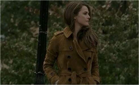The Americans 2.02 brown trench