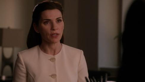 The Good Wife 5.14 cream jacket