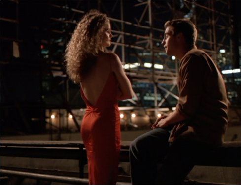 Felicity 2.02 red dress
