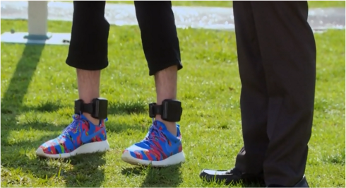Parks and Rec Jean Ralphio sneakers
