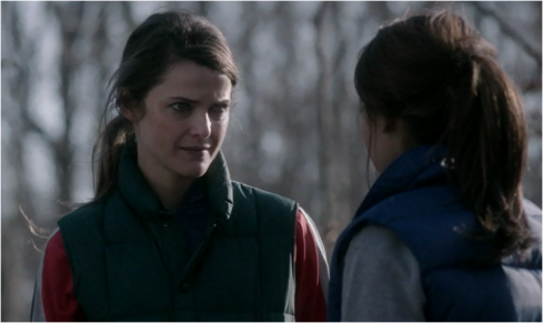 The Americans 2.07 jogging