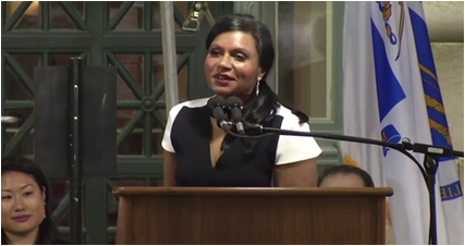 Mindy Kaling Harvard
