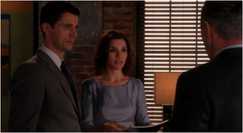 The Good Wife 5.21 Alicia and Finn